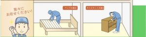 家具の組立